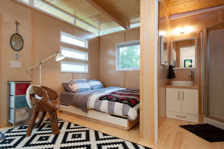 Fresh + Modern + Bright Tiny House