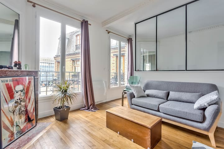 Nice studio apartment in the 19th arrondissement