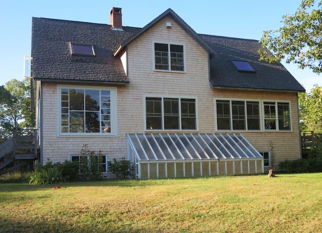 Double bedroom,  House, Field, Shorefront, Oaks - Sedgwick - Casa