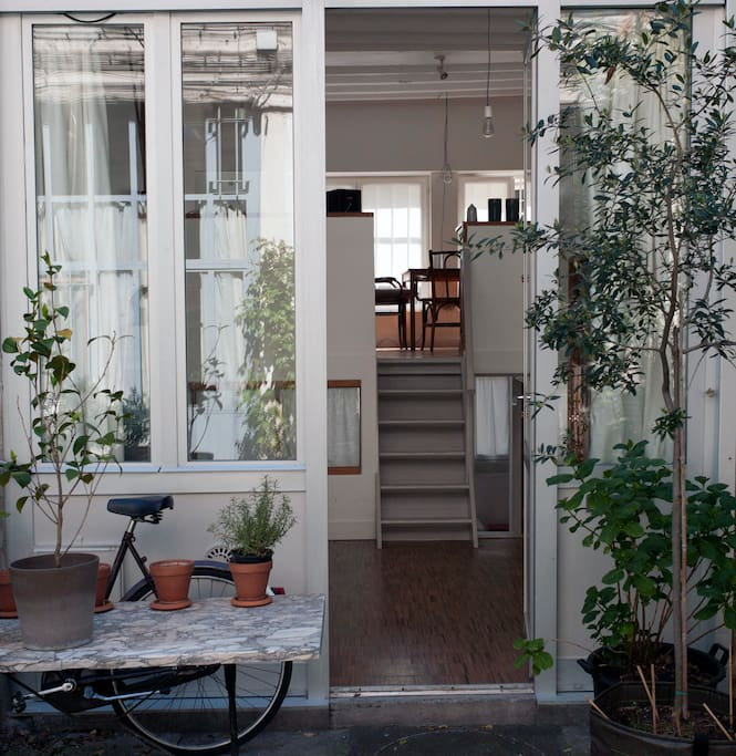 Atelier la campagne paris lofts louer paris le for Atelier loft a louer