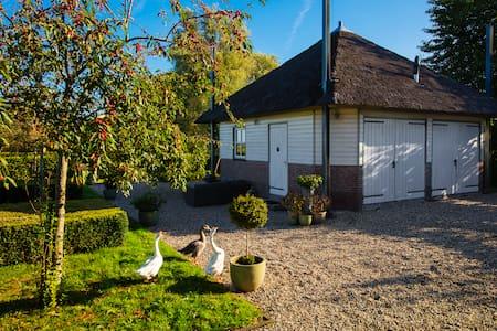Luxe hooiberg in Bergambacht. - Bergambacht - Zomerhuis/Cottage