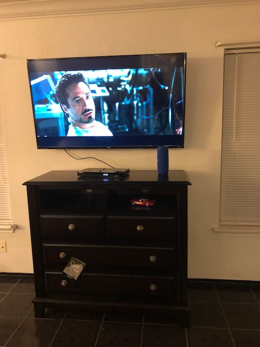 Just installed a new smart television in the family room. We love this home!