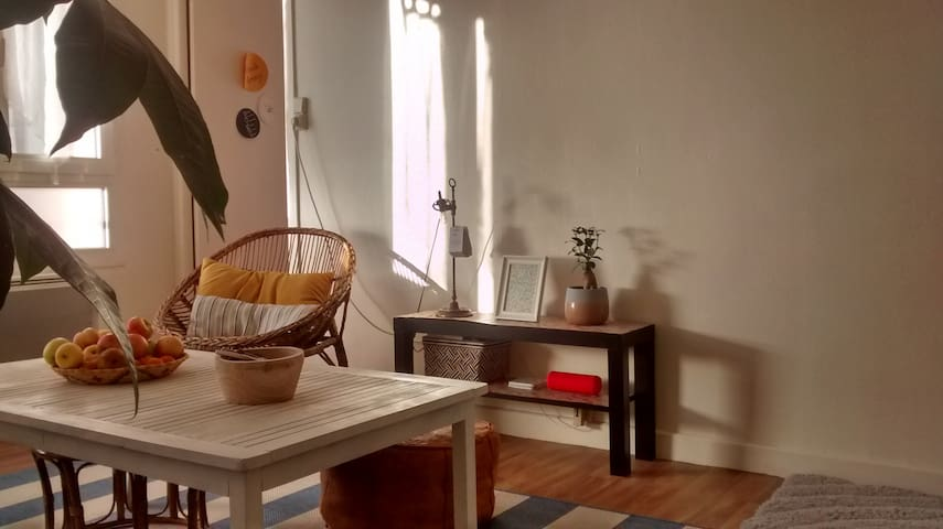 T2 chaleureux, entre design et récup - Saint-Julien-les-Villas
