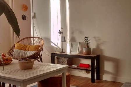 T2 chaleureux, entre design et récup - Saint-Julien-les-Villas - Appartement
