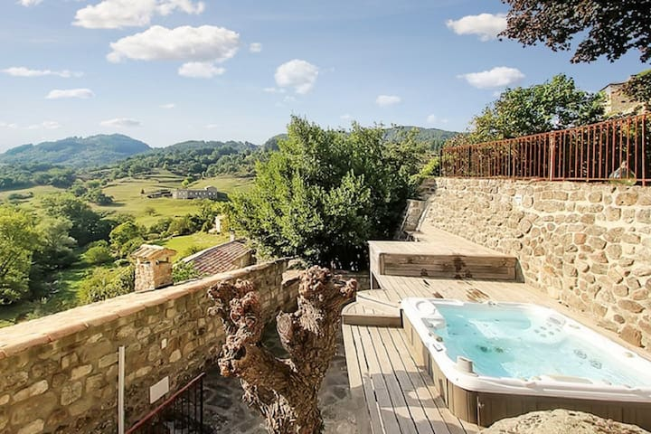 Stunning villa with panoramic views - Saint-Michel-de-Boulogne