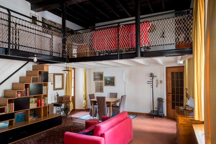 Loft in the historical center