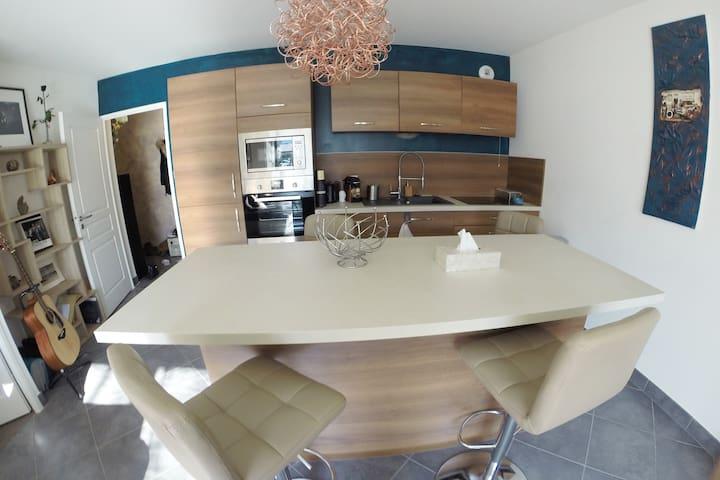Appartement cosy, fonctionnel aux portes de Genève - Annemasse - Apartamento