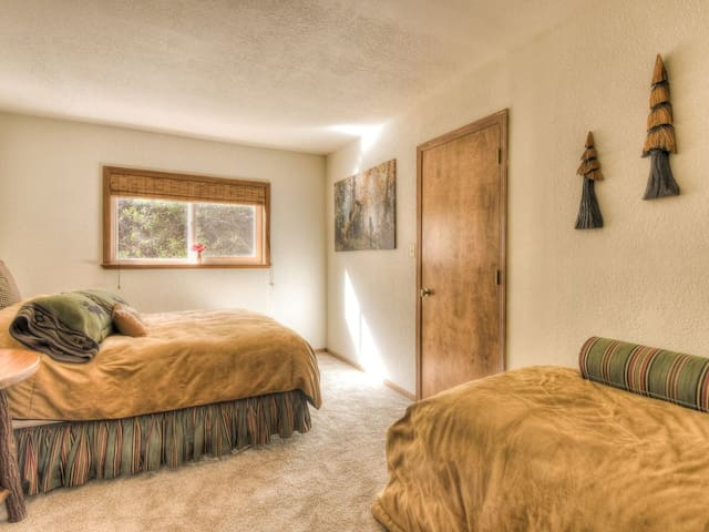Third Bedroom with Queen and Single Bed