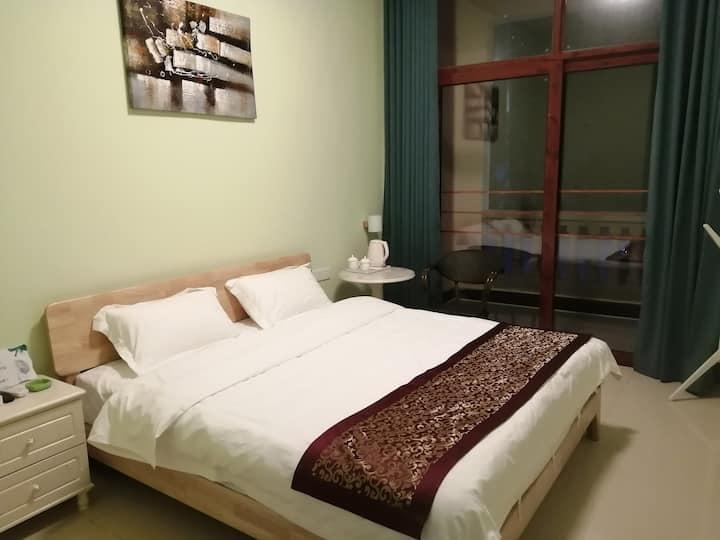 槟榔谷呀诺达雨林蔡园温馨大床房