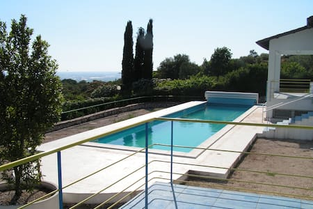 Villa with pool and stunning views - Priverno