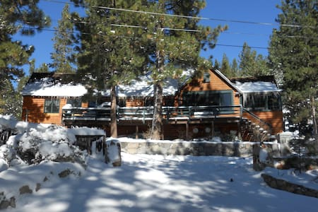 Incredible Charming Lake Tahoe Cabin - Glenbrook - Casa de campo