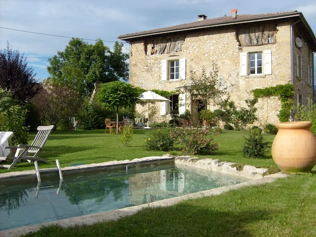 Superbe maison de campagne rénovée - Saint-Jean-en-Royans - บ้าน
