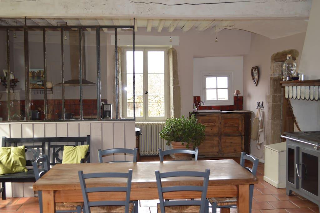 Grande cuisine de 35 m2