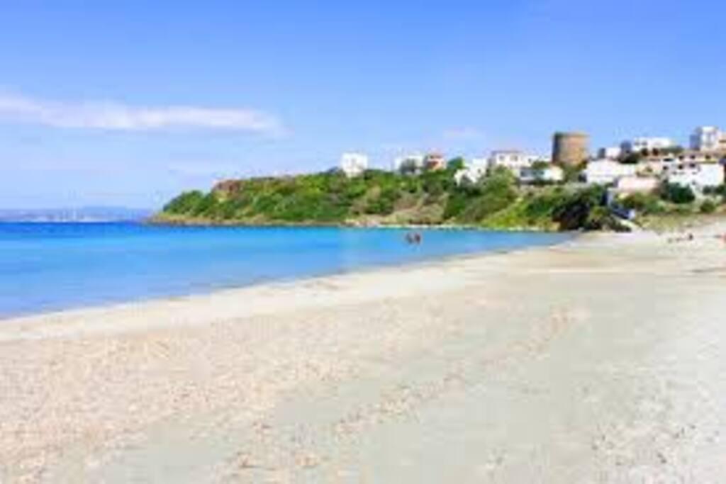 Sottotorre beach Calasetta