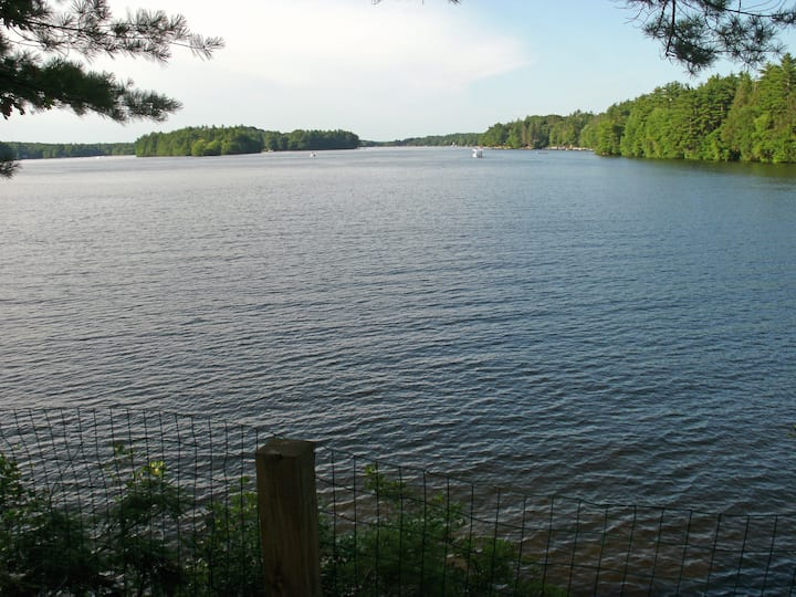 Rustic Private Island Cabin on Lake