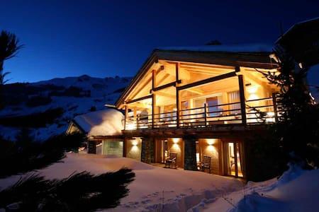 5 bd, ski, views, restaurant - Bagnes