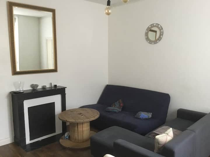 Saint Thomas,  Appartement type 2.proche centre