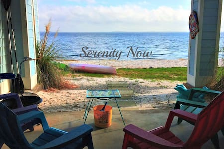 Serenity Now (TSN)-Waterfront-Sand Beach & Pool**