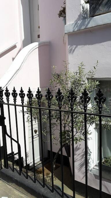 Your own front door!