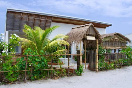One room from Raakani Home, Hanimaadhoo, Maldives