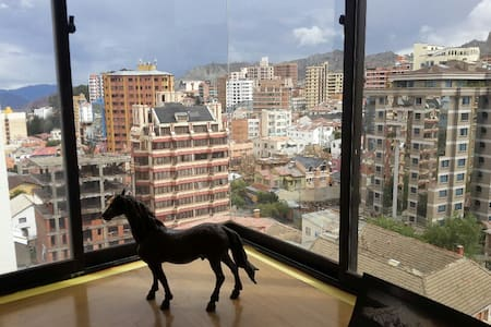 Downtown, Amazing Views, Beautiful & Sunny. - La Paz - Apartment