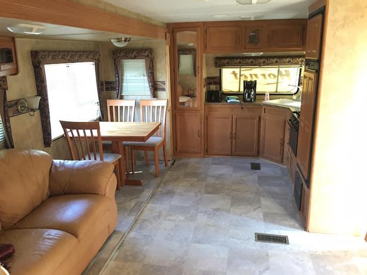 Nice RV stay on Lake Livingston, Onalaska, Texas