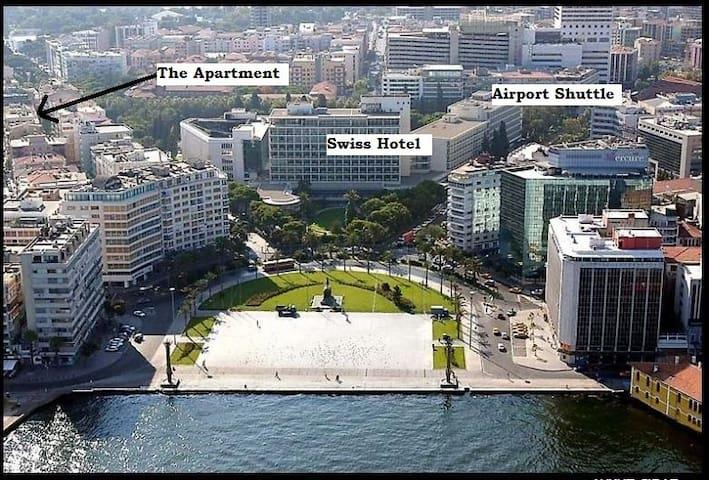 2+1 Apartment in central Izmir - Izmir - Byt