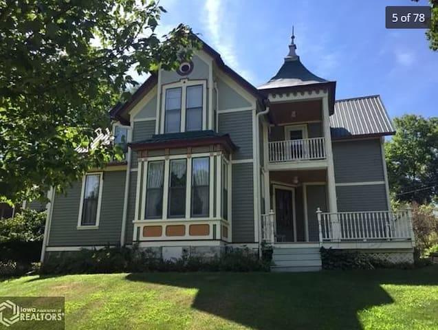 4-bedroom Victorian Home built in 1880.