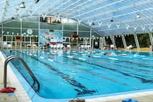 Outside the Resort: semi-Olympic swimming pool, Heated and covered, Children's swimming pool, At the Country Club Evron includes wet and dry saunas, jacuzzi,  within a 10 minute drive
