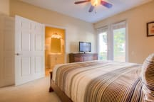 3rd bedroom with a king bed