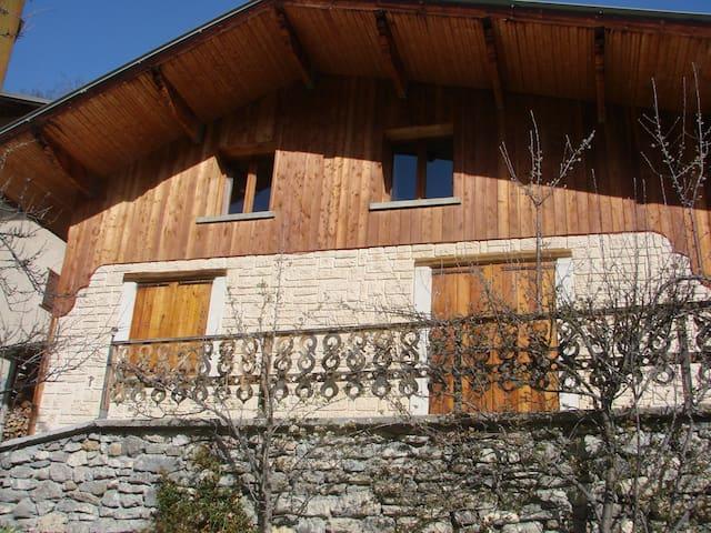 Chalet chez Toine - Saint-Paul-sur-Ubaye - Alpehytte