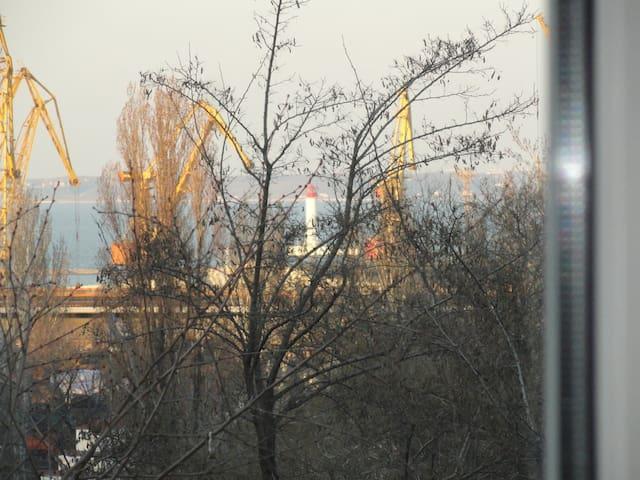 Deribasovskaya with see view