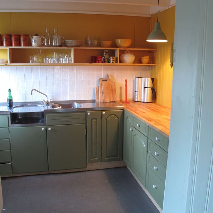 Kitchen, renovated 2015
