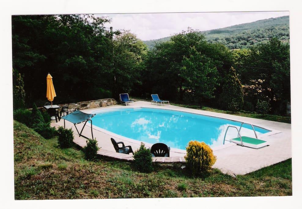 5x3x3 m Swimming pool in garden