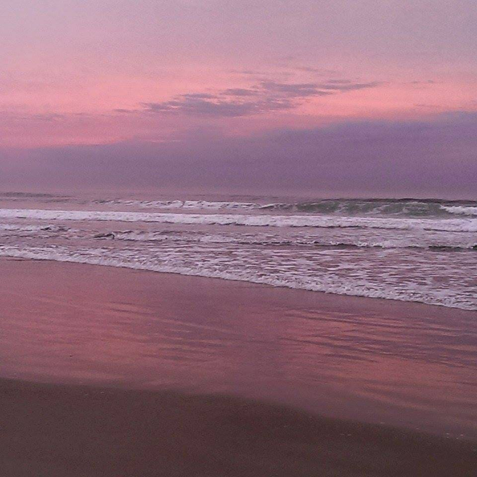 Ogunquit Beach at twilight. What's not to love? :)  We are close to Footbridge beach (where this photo was taken)