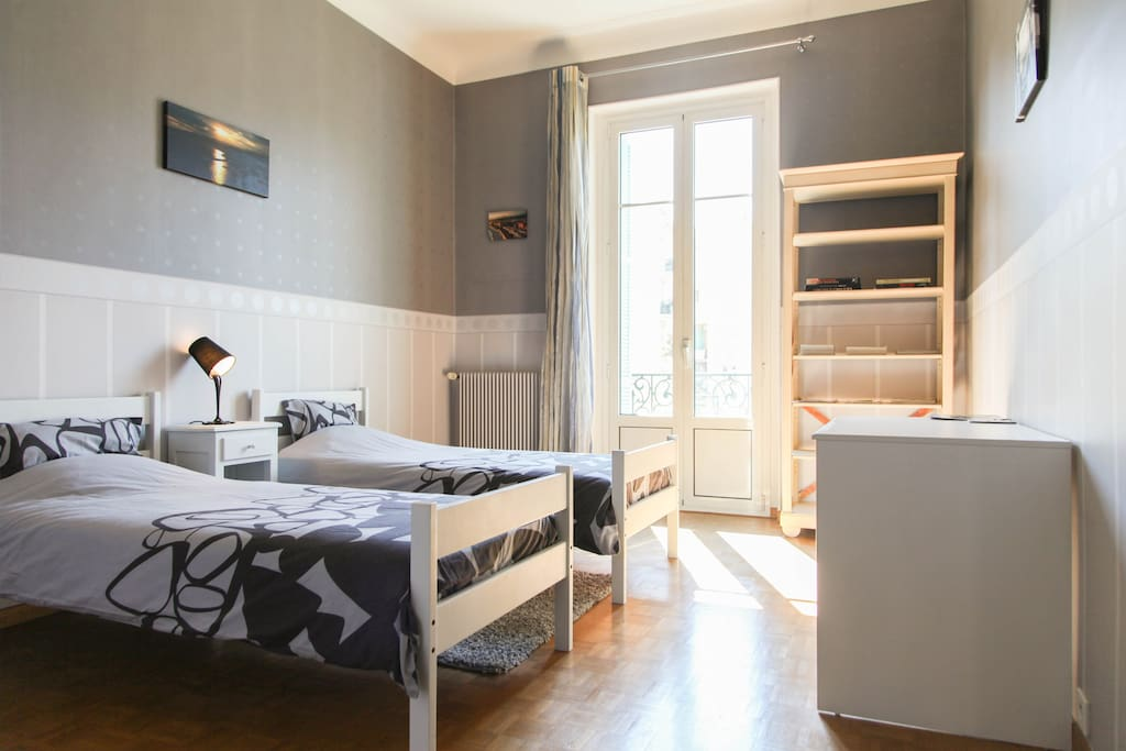 B b nissa malaussena chambre 2 pers chambres d 39 h tes for Chambre d hote nice