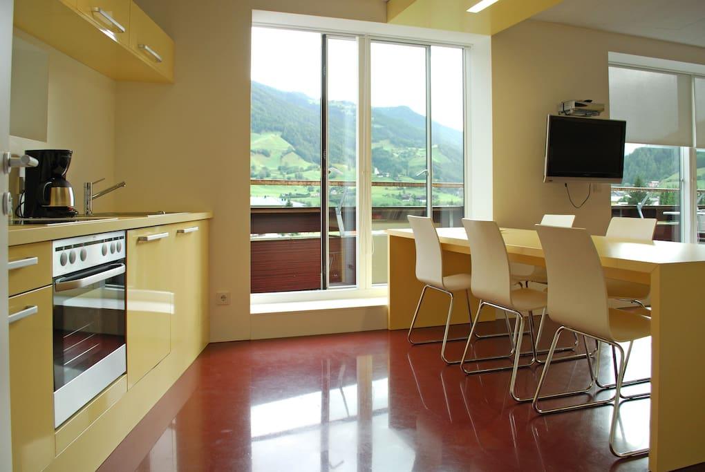 Design appartement mit terrasse appartements louer for Location appartement design