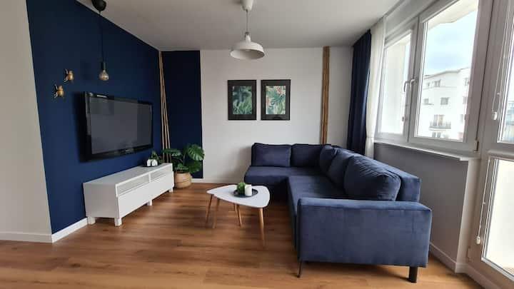 Słoneczny apartament w centrum Gdyni