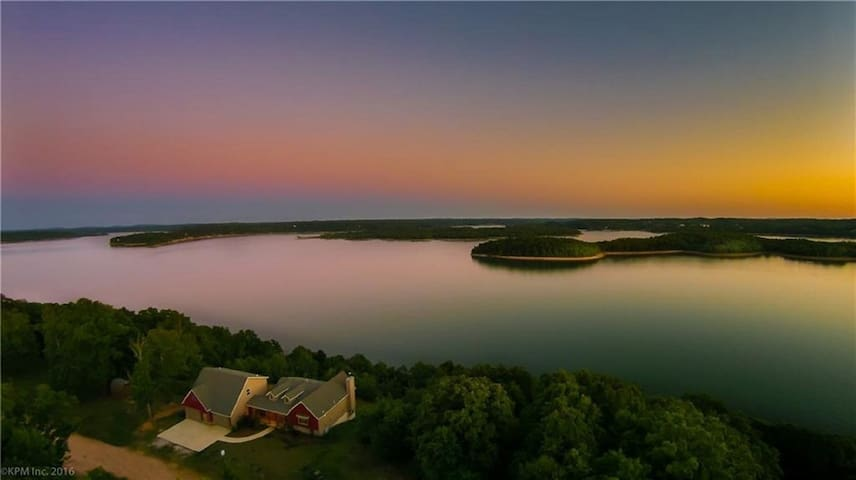 Million Dollar View Beaver Lake - Rogers - Huis