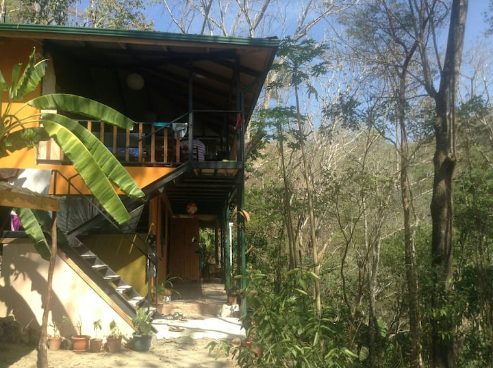 Jungle House - 1 room with 2 single beds (bunkbed)