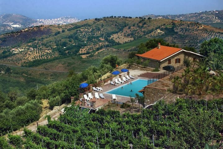 A beautiful Farm Holiday In Cilento - Torchiara, Salerno - Wikt i opierunek