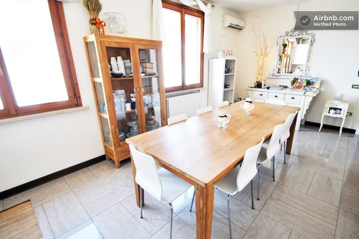Cozy Apt in Mantova few km from Garda Lake - Curtatone - Leilighet