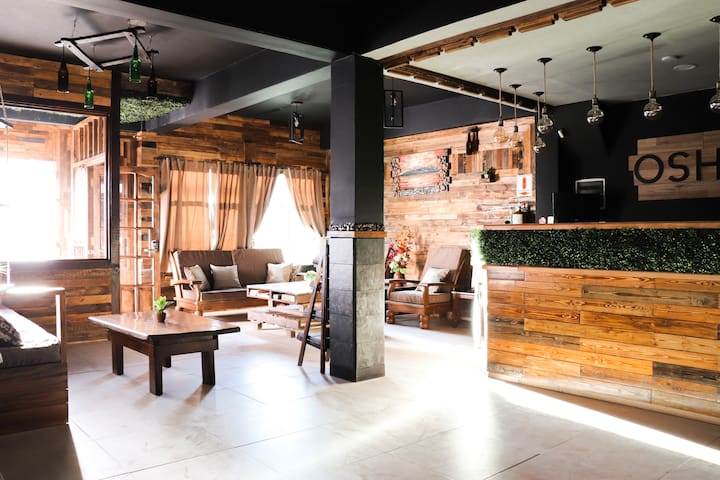 Private bedroom at Oshovia Hostel