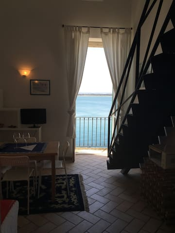 ORTIGIA-TOWN CENTRE Sea view Studio - Siracusa - Apartment