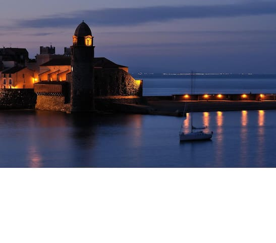 Location Collioure 7 parking wifi jardin - Collioure - Pis