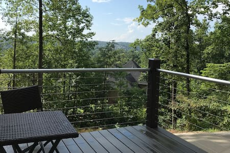 Treetop Perch - Cozy Private Suite w/deck and view