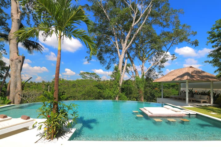 Stunning  new luxury villa & infinity jungle pool - Tampaksiring - Willa