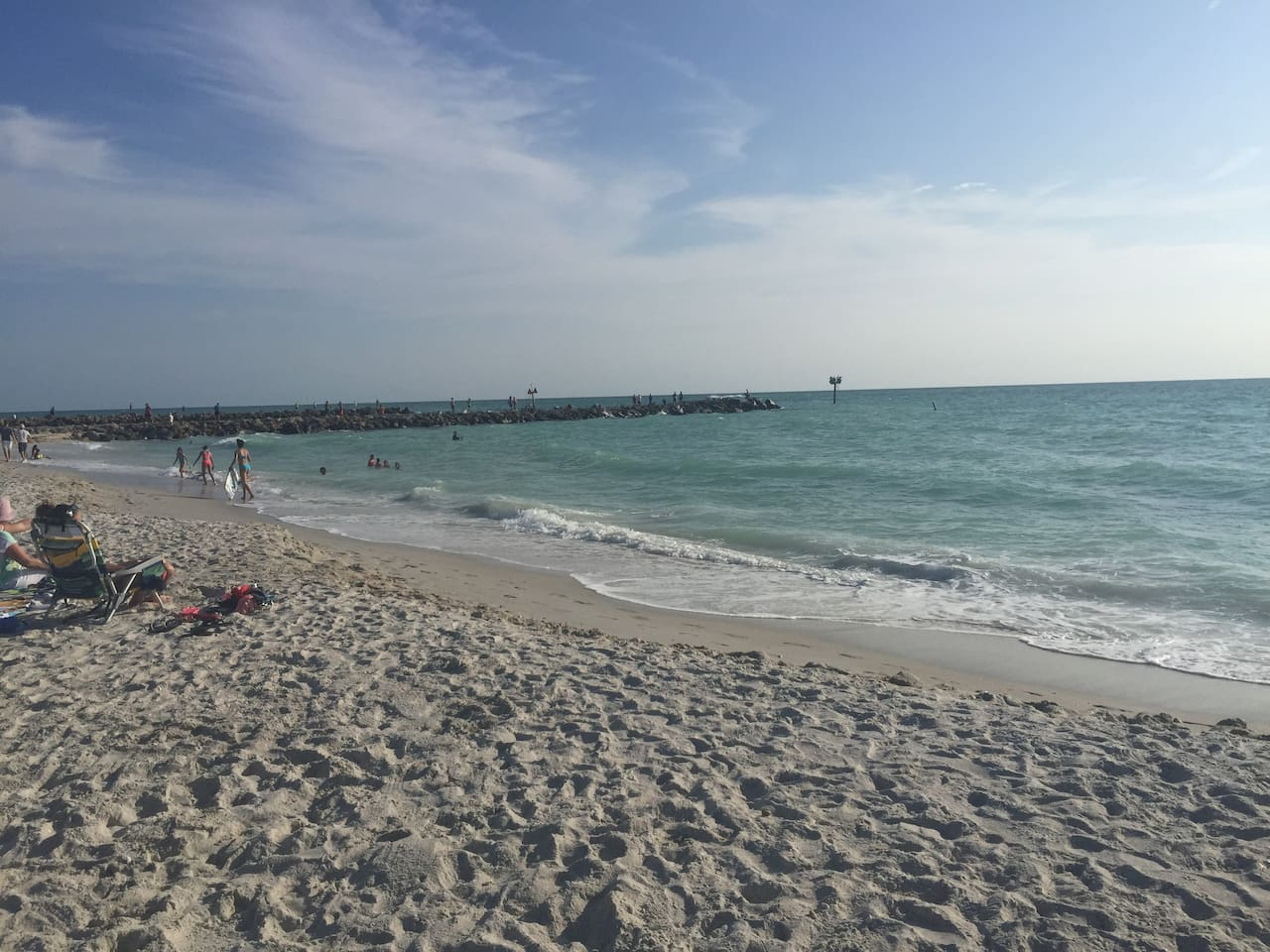 Nokomis Beach - a quick trip from the house!