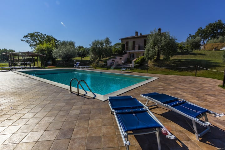 Cottage in Agriturismo between Umbria and Tuscany