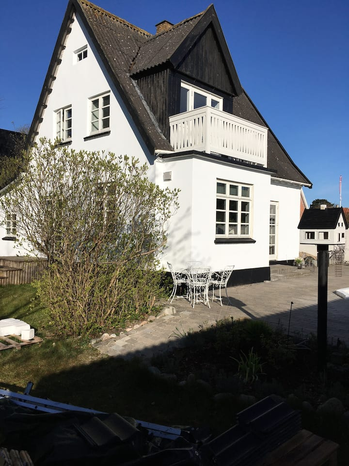 House in Gilleleje town - 5 min walk from beach